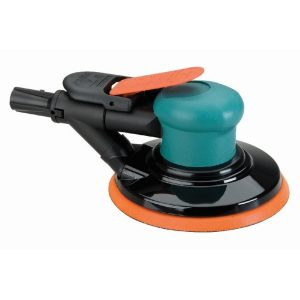 "Dynabrade 59013 6"" (152 mm) Dia. Dynorbital-Spirit Random Orbital Sander, Self-Generated Vacuum"