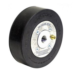 "Dynabrade 92928 5"" (127 mm) Dia. x 1-1/2"" (38 mm) W Heavy Duty Dynacushion Pneumatic Wheel"