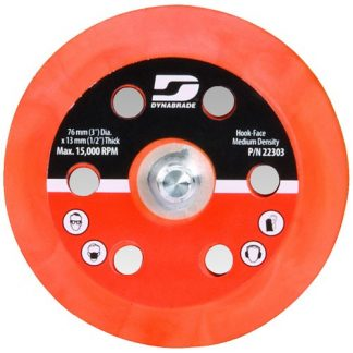 "Dynabrade 57763 6"" (152 mm) Dia. Vacuum Gear-Driven Disc Pad, Vinyl-Face"