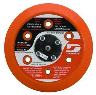 "Dynabrade 53997 11"" (279 mm) Dia. Vacuum Gear-Driven Disc Pad, Hook-Face, Short Nap"