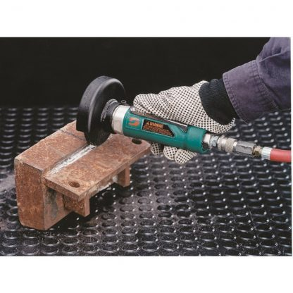 "Dynabrade 52373 4"" (102 mm) Dia. Straight-Line Type 1 Wheel Grinder, Non-Vacuum"