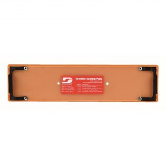 """Dynabrade 57512 2-3/4"""" (70 mm) W x 11"""" (279 mm) L Non-Vacuum File Board Disc Pad With Clips, Vinyl-Face"""