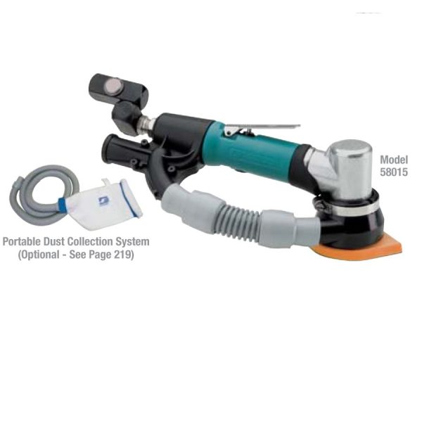 Dynabrade 58015 Dynafine Detail Sander , Self-Generated Vacuum