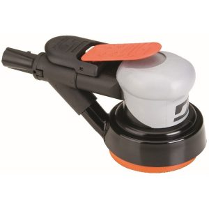 "Dynabrade 69003 3-1/2"" (89 mm) Dia. Dynorbital Silver Supreme Random Orbital Sander, Self-Generated Vacuum"