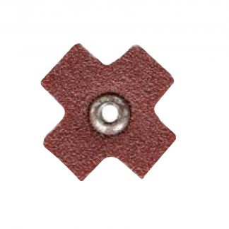 "Dynabrade 93580 3/4"" (19mm) Dia Eyelet Star, P120, 10/Pack"