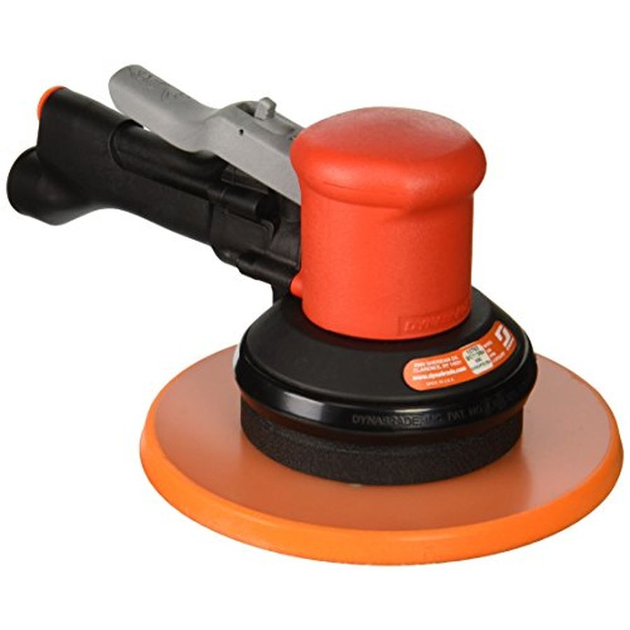 "Dynabrade 10763 8"" (203mm) Dia. Two-Hand Gear-Driven Sander, Non-Vacuum"