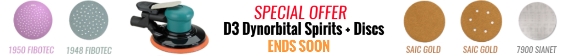 Dynabrade Dynorbital Spirit Special Offer